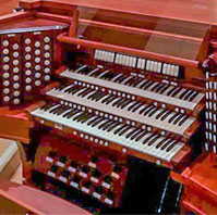 Recently Installed Organ for  Saint John Fisher Catholic Church