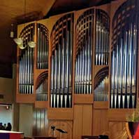 Recently Installed Organ for Saint Margaret Mary Catholic Church