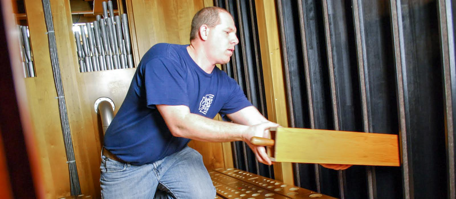 Pipe Organ Installation